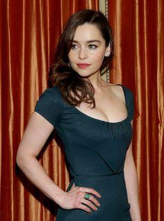 Emilia Clarke, Khaleesi es la mujer más sexy del mundo