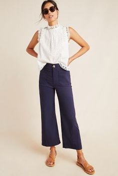 Women Casual Jeans Outfit Spandex Pants Long Trousers Casual Wear For Beauty Pageant Smart Casual Dress For Men Girly Casual Outfits Casual Wear Day Mode Outfits, Office Outfits, Casual Office Attire, Summer Work Outfits Office, Summer Office Looks, Office Uniform, Easy Outfits, Chic Outfits, Looks Chic