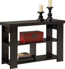 Hollowcore Console Table Finish: Black Forest