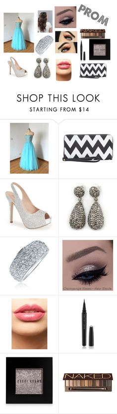 """""""Prom"""" by amp31001 on Polyvore featuring Lauren Lorraine, Bling Jewelry, LASplash, Marc Jacobs, Bobbi Brown Cosmetics, Urban Decay, women's clothing, women, female and woman"""