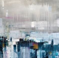 Claudia's dreamy abstracts inspired by emotions and the ocean allow the views ...
