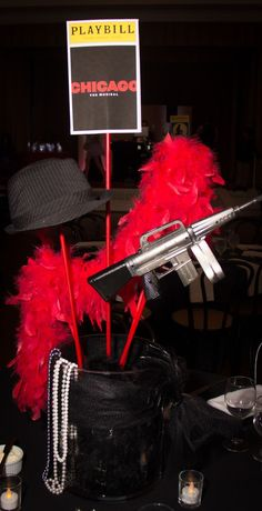 party ideas and decor based on chicago the musical - Google Search
