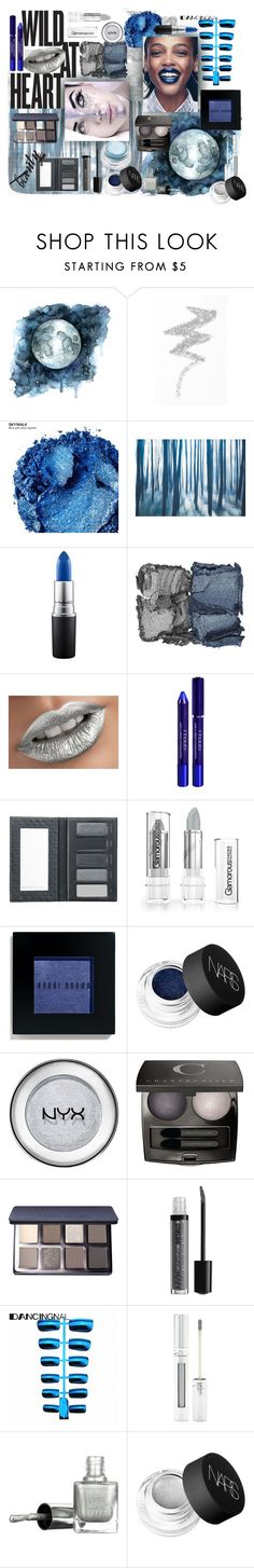 """""""Metallic Makeup 2"""" by bschreiber ❤ liked on Polyvore featuring beauty, NYX, Urban Decay, MAC Cosmetics, NARS Cosmetics, By Terry, Borghese, Bobbi Brown Cosmetics, Chantecaille and Forever 21"""