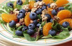 Blueberry Breakfast Salad - Naturipe Farms Berries http://www.naturipefarms.com/recipe/blueberry-breakfast-salad/   #SweetBites #Naturipe
