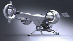 How car designer Daniel Simon created Tom Cruise's nippy little runaround for Oblivion Concept Ships, Concept Cars, Fusion 360, Spaceship Design, Futuristic Cars, Aircraft Design, Transportation Design, Maserati, Peugeot