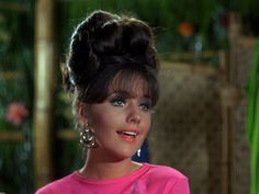 """Dawn Wells as Mary Ann in Gilligan's Island episode """"The Second Ginger Grant"""" Mary Ann And Ginger, Giligans Island, Desert Island, Ginger Grant, 1960s Hair, Tina Louise, Ginger Girls, Old Tv Shows, Vintage Hollywood"""