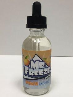 Peach Frost - Mr. Freeze E Liquid #vape #vaping #eliquid