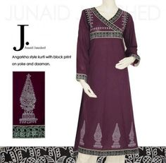 Junaid Jamshed Winter Collection 2012-2013 For Women