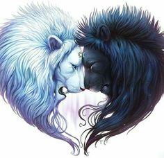 lions... art