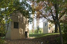 Windig Park Pavilion by LVPH architects / Schoenberg, Fribourg