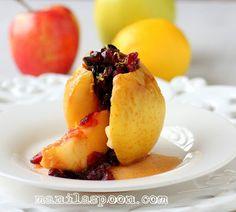 Manila Spoon: Baked Apples in White Wine (Mele al forno)