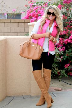 Hot Pink for Fall