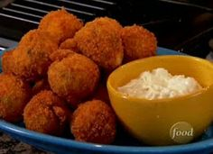 Tailgate Recipe - Buffalo Chicken Cheese Balls