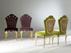 Sedie tessuto ~ Sedia imbottita in tessuto doria collezione palazzo by rozzoni