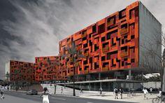 Concurso de Estudantes | 9ª Bienal 2011 – Unidades Habitacionais Estudantes / Cássio Riman, Marcus Brito
