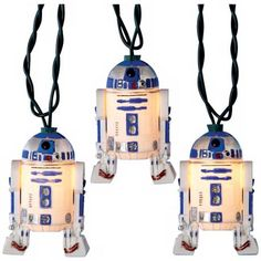 Star Wars R2D2 10-Light String of Party Lights