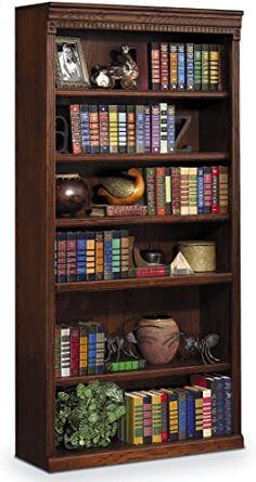 Buy Martin Furniture Huntington Oxford 72 Open Bookcase Burnish