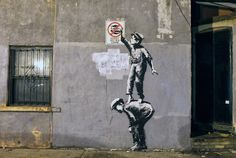 Banksy doesnt agree