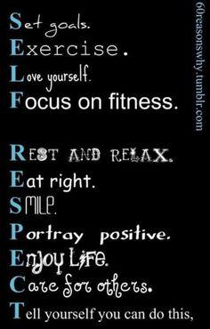 Self respect