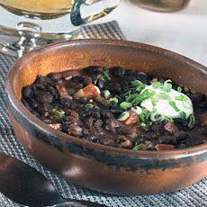 Jamaican Black Bean Soup