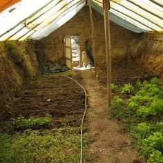 The Underground Greenhouse – Free pdf...~One of these days I may just have a cool underground green house like this one....This would be cool with some kind of glass roof. Heck, maybe I'll have one of those schmancy glass ones.... OR BOTH! LOL! ;)