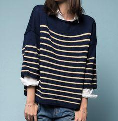 7 pulls à tricoter pour les marinière addicts