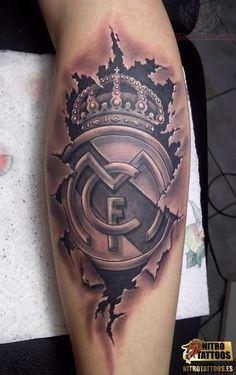 tatuaje real madrid