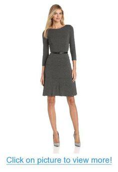 Anne Klein Women's Jersey Swing Suit Dress