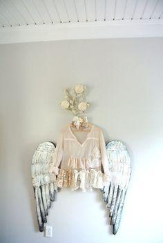 Women's gauze shirt, boho top, summer shabby ecru, Mother's Day, romantic clothing, beach cottage chic, true rebel clothing Large