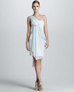 Greek style cocktail dress