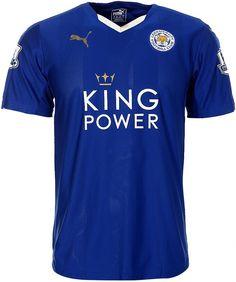 Leicester City 2015-16 Puma Home