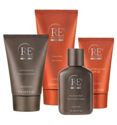 RE9 Advanced for Men Set    Save 10% when you purchase all four products for men. Includes RE9 Advanced for Men Exfoliating Wash, Shave Gel, Post-Shave Balm and Facial Moisturizer SPF 20.