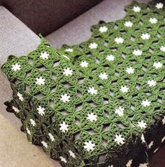 Crochet Throw Patterns - Star Motif