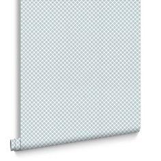 Trellis Grey Wallpaper