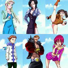 New outfits #NanatsuNoTaizai