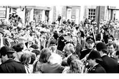 Lady Diana in Brigg town centre during her 1988 visit. Seen to the right of her is Captain Jeremy Elwes, of Elsham Hall.  Read more: http://legacy.thisisscunthorpe.co.uk/25th-anniversary-today-Princess-Diana-giving/story-18554997-detail/story.html#ixzz2vnnhlyak