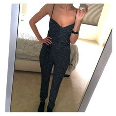 NWOT Free People Jumpsuit - XS Brand new, never worn (only tried on for pics). SUPER Soft and comfortable. You need to have some height to rock this, I reco 5'7 + and pairing with some heels. ❤️ Free People Pants Jumpsuits & Rompers