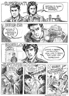 Superwholock? by TheK40.deviantart.com on @DeviantArt
