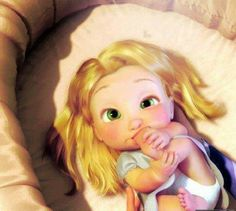 Tangled*;* love that movie.