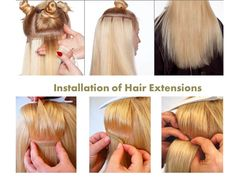 7 heatless hairstyles using clip in hair extensions luxury for four things to be aware of when you are attempting a diy installation of hair extensions solutioingenieria Image collections