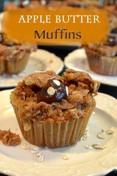 Apple Butter Muffins Recipe from Platter Talk