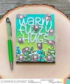 mama elephant | design blog: STAMP HIGHLIGHT : Little Sloth Agenda