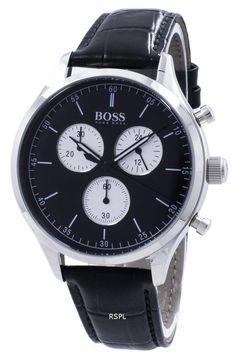 07cf2031c4dbde Hugo Boss Companion Chronograph Quartz 1513543 Hugo Boss Watches, Watches  For Men, Online Watch