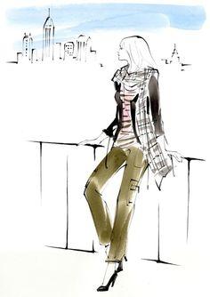 Brooklyn yoko nagamiya fashion illustration