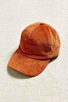 Corduroy Baseball Hat - Urban Outfitters { Follow me @slayingchxndria }