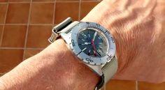 Prototype CREPAS TORNADO 1000M grey dial with grey NATO strap. Prototipo CREPAS TORNADO 1000M esfera y NATO gris. #watch  #watches  #watchoftheday  #luxury #rolex  #timepiece    #watchcollector    #omega  #rolexwatch   #swissmade  #luxurywatch #chronograph       #luxurywatches #watchlover