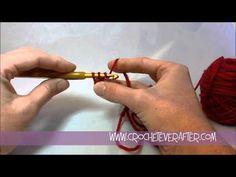 ▶ Left Hand Single Crochet Tutorial #1: SC for Beginners - YouTube