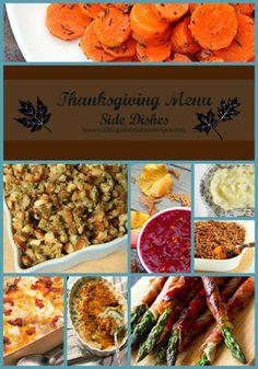 Walking on Sunshine Recipes:  Thanksgiving Side Dishes