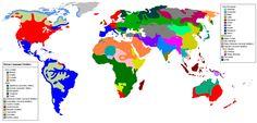 World Language Map