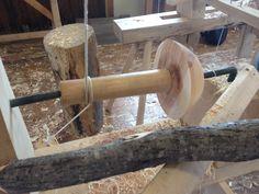 Image result for pole lathe turning